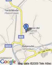 Продавам дворно  място на 40км от София- в  с. Богданов дол  на главен път с площ от 1222 кв. м