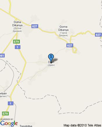 Продава къща с двор в област Перник / село Дрен - под борова гора