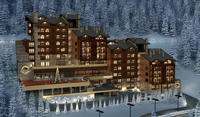 Hidden Valley Complex - Pamporovo, Bulgaria is selling 96 fully furnished super luxury apartments.