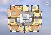 Тристаен, кв. Павлово, бул. Бъкстон, 130.96 кв.м, пуск февруари 2010 г.