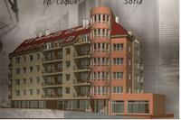 Тристаен апартамент с акт 14. Предава се на шпакловка и замаска.Луксозни общи части.