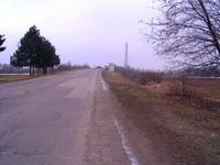 Земеделска земя на главен път за Румъния.