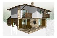 Еднофамилни къщи в прекрасен планински район,в полите на Пирин и Рила!