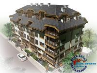 Атрактивна нова сграда в Банско