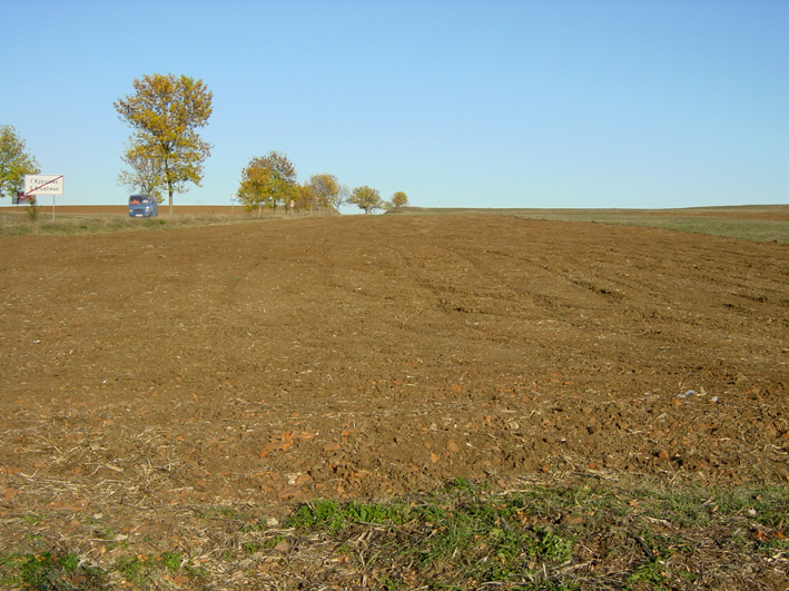 Face to the road – 209 m ,  regulated  plot of land on the main road  Burgas – Elhovo.