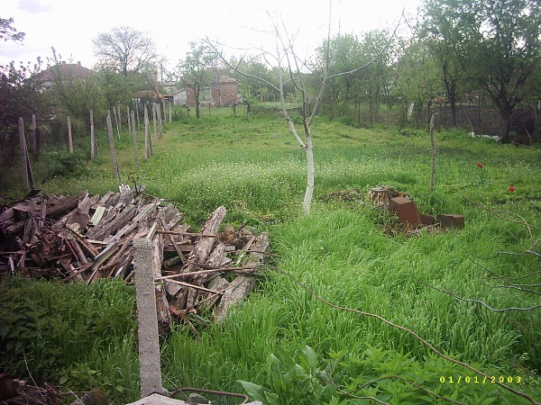 Дворно място на 20 км. от Бургас