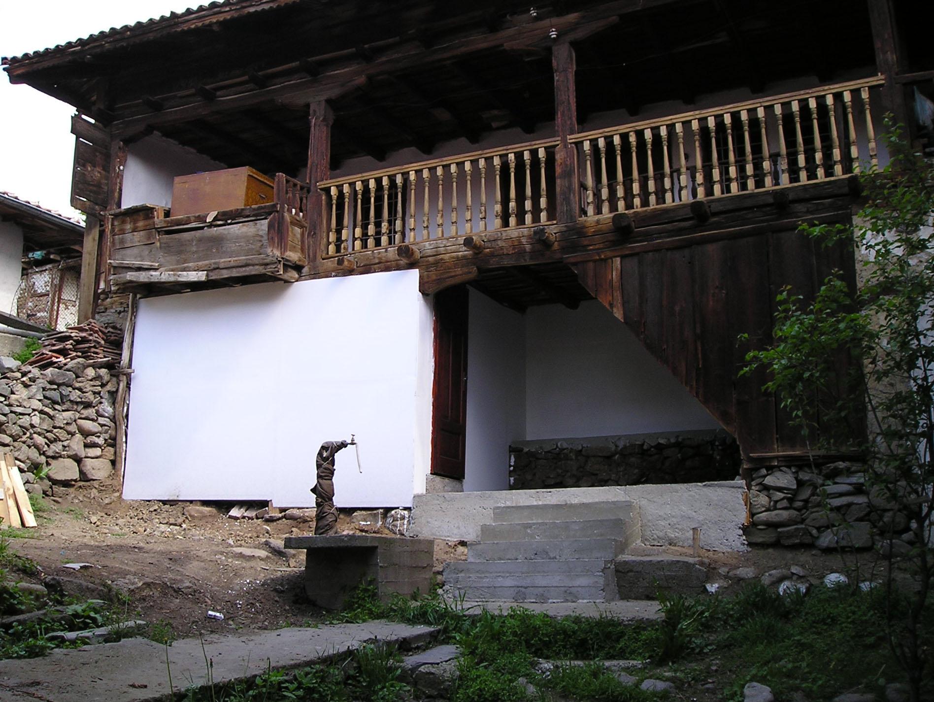 folk-style house located   in Bansko region