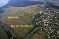 4600кв.м парцел с.Близнаци-18км. южно от Варна- морска панорама