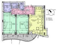 продава нов тристаен апартамент в София, кв.Бъкстон