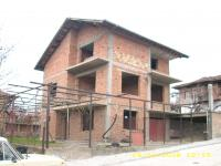 продавам нова 3-ет.къща на груб строеж,покрита-с.Бъта,Панагюрско