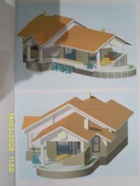 продава парцел с проект за къща92м2.