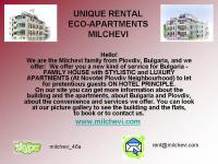STYLISTIC APARTMENTS OF HIGH QUALITY.