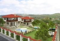 Нова луксозна къща близ Бургас, в планина, у морето