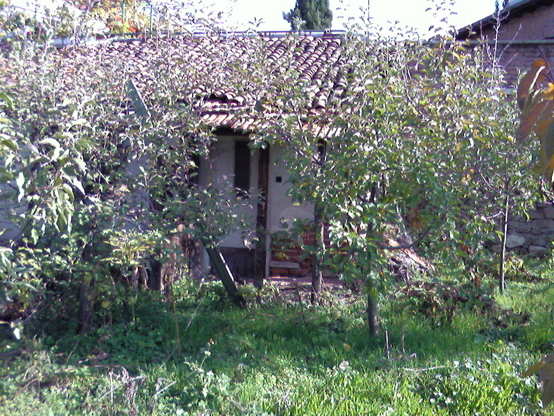Продавам малка тухлена къща в центъра на пловдиското село Устина- Дворно място 300 кв.м Ток , вода , канализация. От собственик!!!