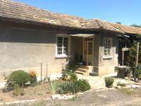 селска къща с двор с 3 стаи и антре цялата на маза новопостроена селскостопанска постройка  трайни насъждения