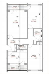 Продавам тристаен апартамент,93кв.м. Асеновград,ШЦ