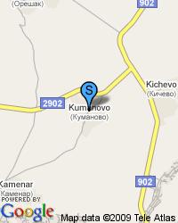 Продавам имот 1100кв.м. с   къща в централната част на село КУМАНОВО.РЗП 180кв.м. ток,вода,телефон,кладенец.