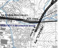 Продавам терен 21800м2 в промишлена регулация, индустриална зона Перник до магистрала Струма