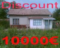 Къща с двор 5205м2 село ПЧЕЛАРОВО(Добрич)