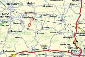 ПРОДАВАМ 10 дка. зем.земя за промишлена и животновъдна дейност на 23 км. от гр. В. Търново