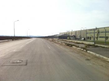 plot of industrial land