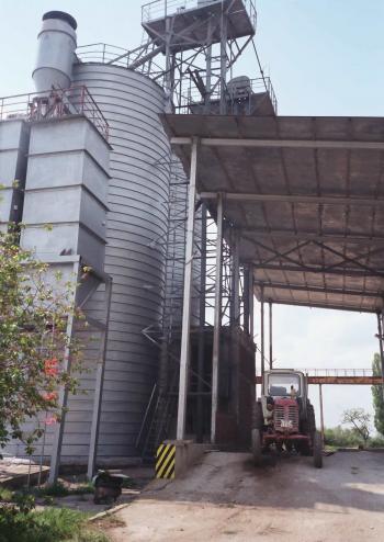 лицензиран публичен склад – силоз за съхранение на зърно