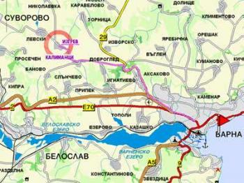 Продавам двор-в регулация с.ИЗГРЕВ-18 км.от Варна