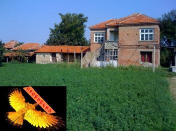 Къща с двор за живеене и бизнес  в с.Тенево, Ямбол - 15 км, Бургас – 100 км