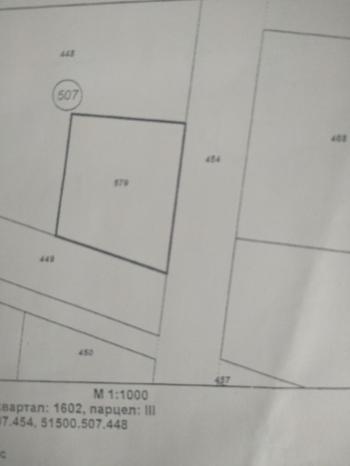 Парцел в Сл.Бряг УПИ 1100м/2.Изгодно